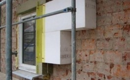 Reabilitarea termica a unui perete cu polistiren expandat